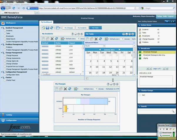 Bmc Software Remedyforce It Service Management Software
