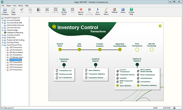 sage 300 erp inventory control user guide