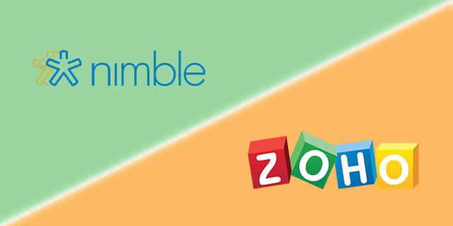 Zoho vs Nimble: Two SMB-Friendly CRM Providers Duke It Out